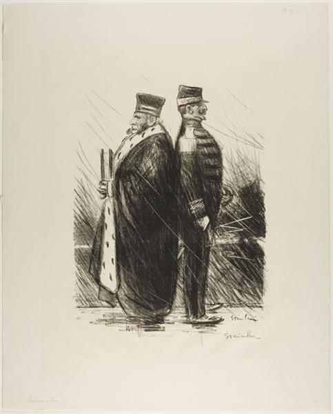 Saluons Les, 1899 - Theophile Steinlen