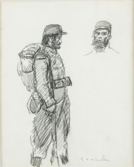 Soldiers - Theophile Steinlen