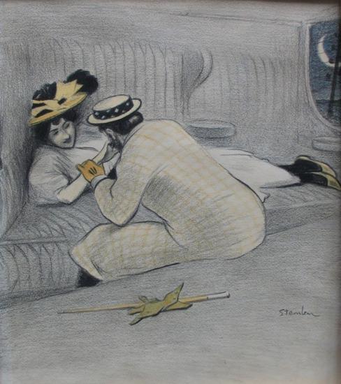 Une Honnete Femme - Theophile Steinlen