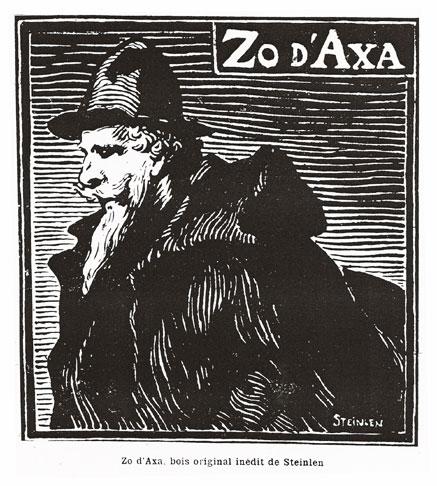 Zo d'Axa - Theophile Steinlen