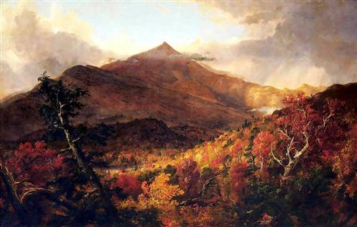 Schroon Mountain, Adirondacks - Thomas Cole