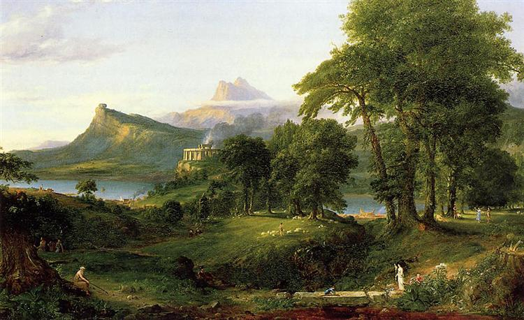 The Arcadian (Pastoral State), 1836 - Thomas Cole