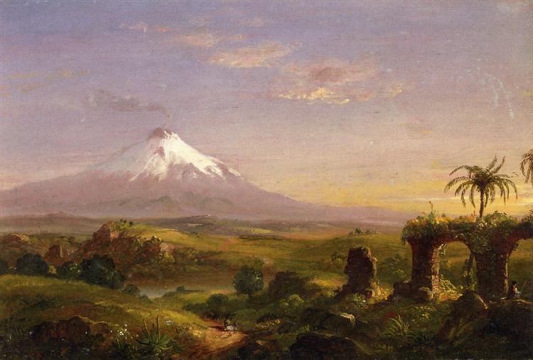 View of Mount Etna, 1844 - Thomas Cole