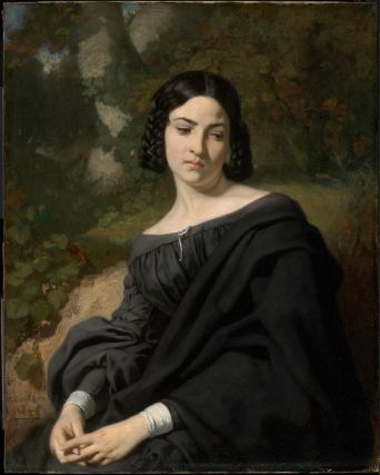 A Widow - Thomas Couture
