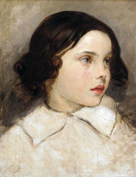 Etude de Jeune Fille - Thomas Couture