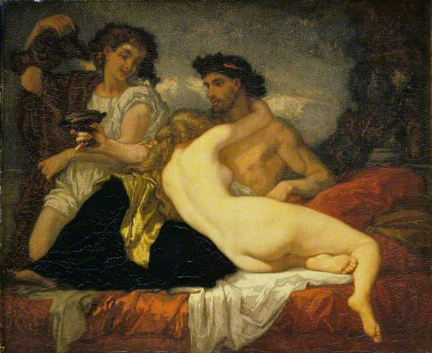 Horace and Lydia - Thomas Couture