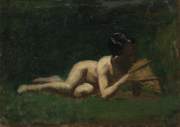 Boy Reclining - Thomas Eakins