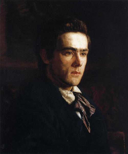 Portrait of Samuel Murray, 1889 - Thomas Eakins
