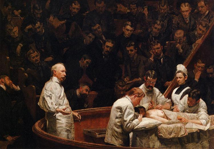 The Agnew Clinic - Thomas Eakins