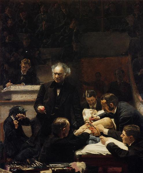 The Gross Clinic, 1875 - Thomas Eakins