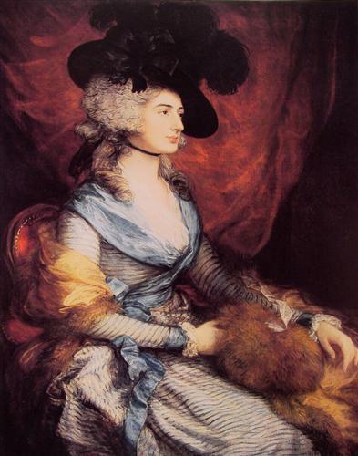 Mrs. Sarah Siddons, the actress - Thomas Gainsborough