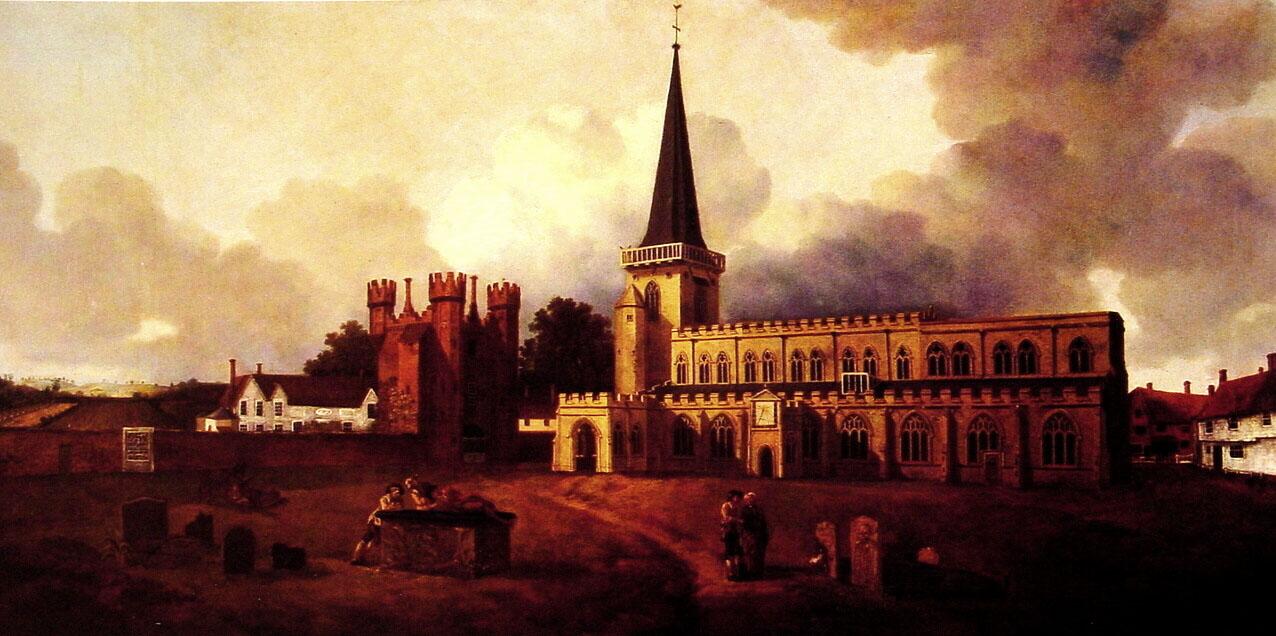 St Mary S Church Hadleigh C 1748 C 1750 Thomas