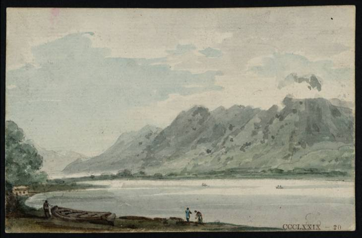A Lake and Mountains in Westmorland, 1797 - Thomas Girtin