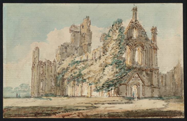 Kirkstall Abbey from the North West, 1797 - Thomas Girtin