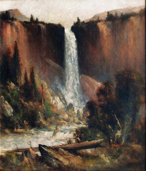 Angler's Camp Below Nevada Falls - Thomas Hill