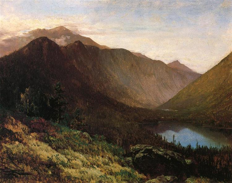 Mount Lafayette, Franconia Notch, New Hampshire, 1870 - Thomas Hill