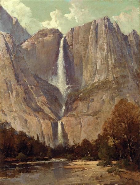 Yosemite Falls - Thomas Hill