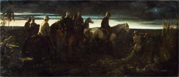 The Dawn of Victory, 1862 - Thomas Jones Barker