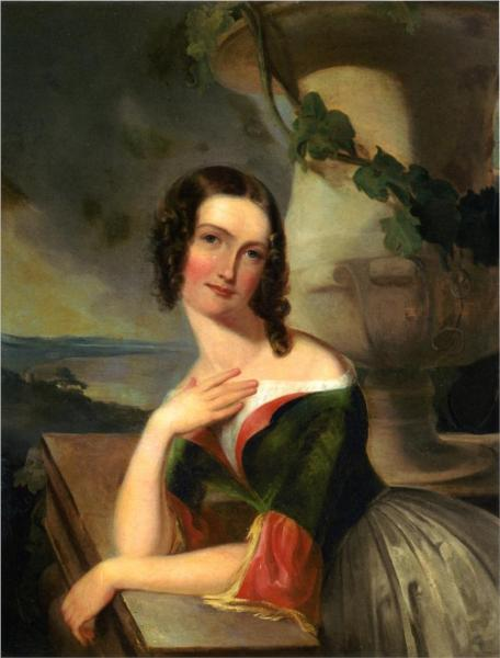 Elizabeth Wharton (Mrs. William J. McCluney) - Thomas Sully