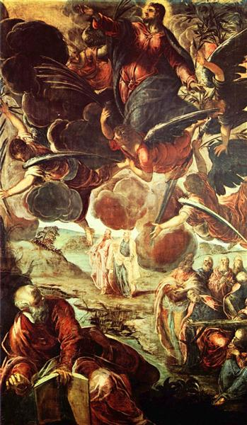 Ascension of Christ, c.1576 - 1581 - Tintoretto