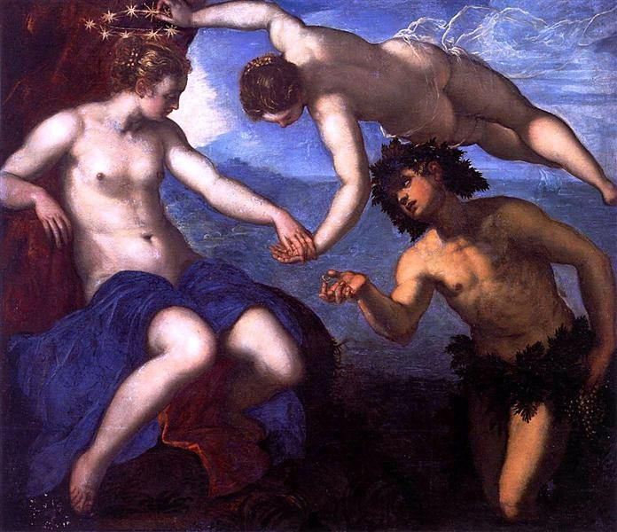Bacchus and Ariadne, 1578 - Tintoretto