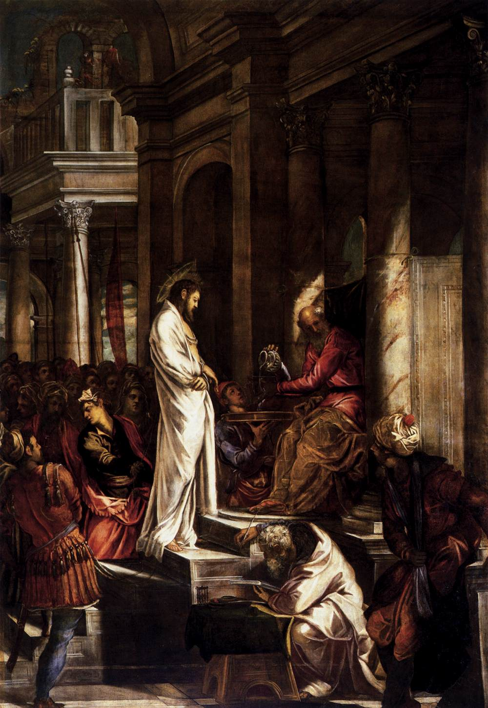 Christ before Pilate, 1566-1567