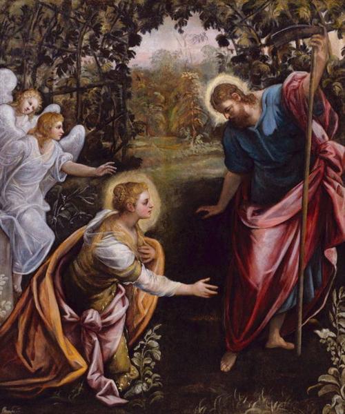 Noli me tangere - Tintoretto