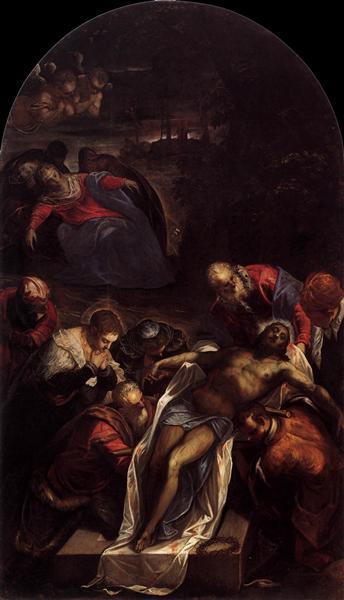 Entombment, 1592 - 1594 - Tintoretto
