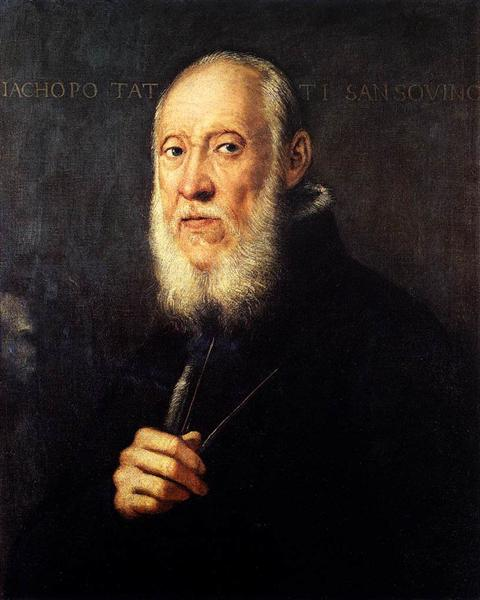 Portrait of Jacopo Sansovino, 1571 - Tintoretto