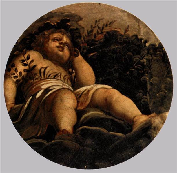 Spring, c.1564 - Tintoretto