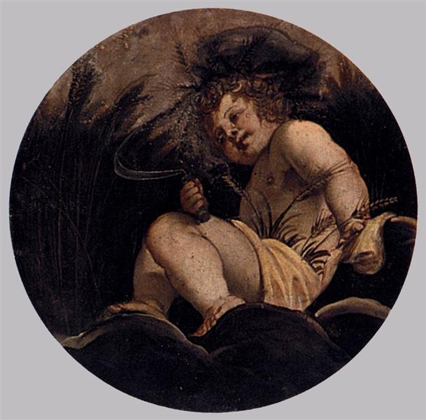 Summer, c.1564 - Tintoretto
