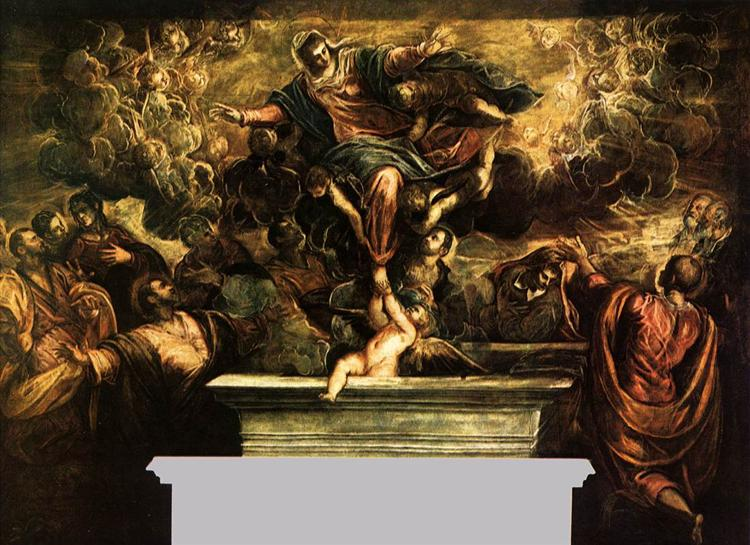 The Assumption of the Virgin, 1582 - 1594 - Tintoretto