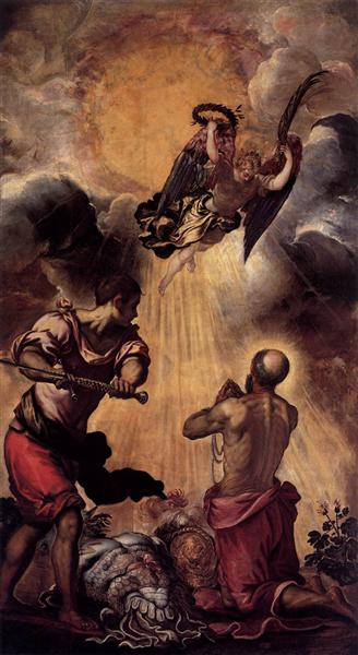 The Martyrdom of St Paul, c.1556 - Tintoretto