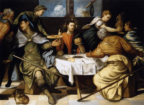 The Supper at Emmaus - Tintoretto
