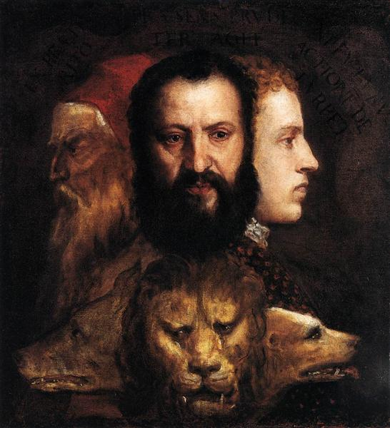 Allegory of Time Governed by Prudence - Titian