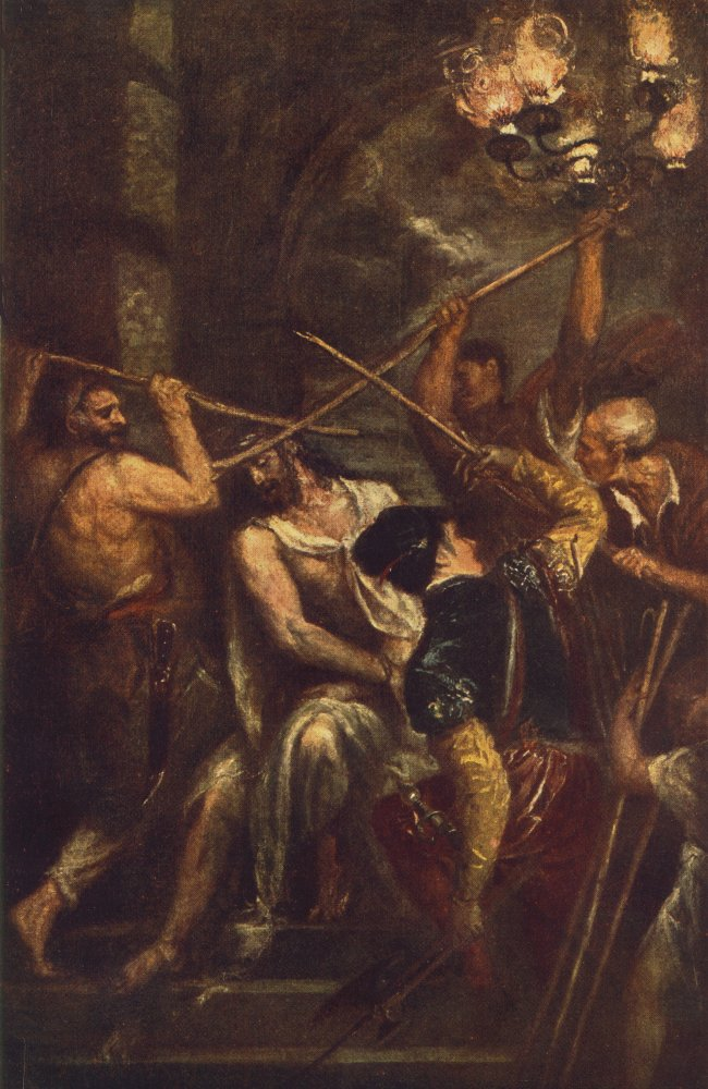 Crowning with Thorns - Titian - WikiArt.org - encyclopedia ...