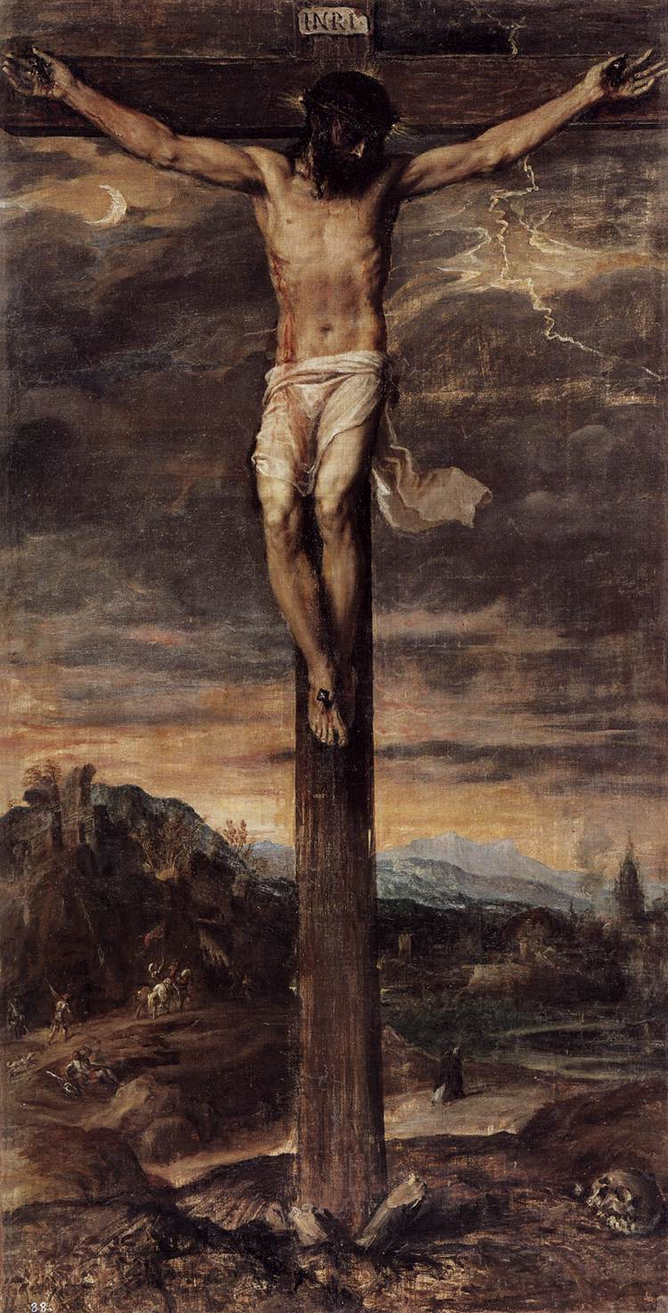 Jesus Crucifixion Painting