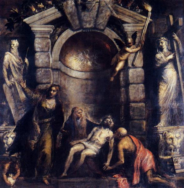 La Piedad, 1576 - Tiziano