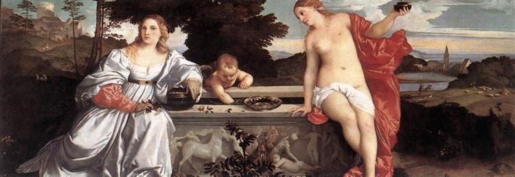 Sacred and Profane Love, 1514 - Titian