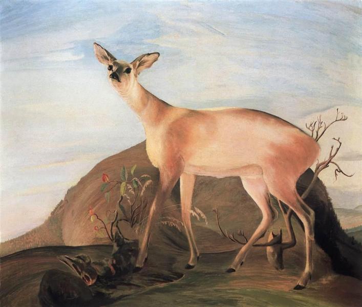 Deer, 1893 - Tivadar Kosztka Csontvary
