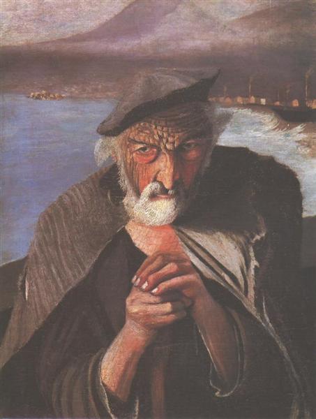Old Fisherman - Tivadar Kosztka Csontvary