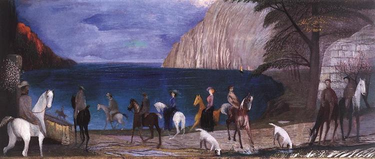 Riders on the Seashore, 1909 - Tivadar Kosztka Csontvary