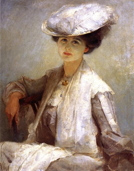 Grey Lady (Mrs. Ince), 1912 - Tom Roberts