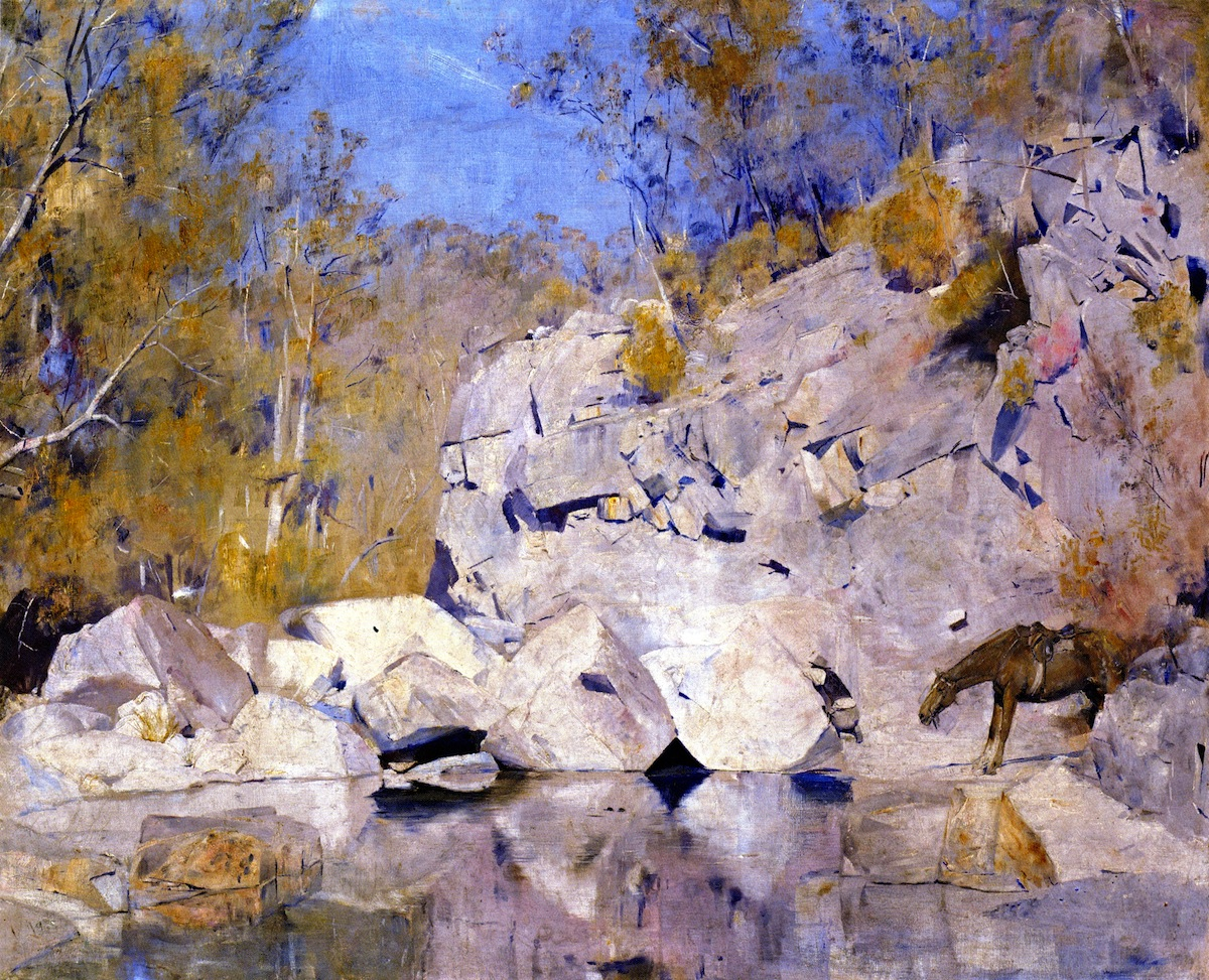 In a Corner on the Macintyre, 1889