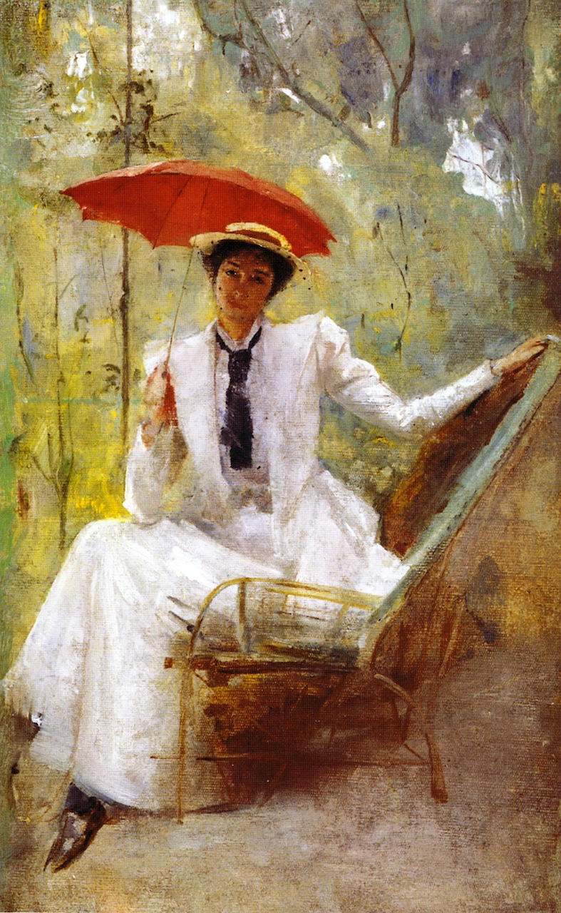 Lady with a Parasol, 1893