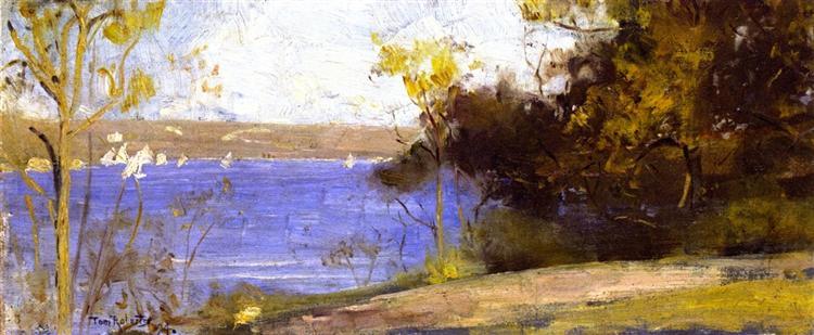 Landscape, Cremorne, 1894 - Tom Roberts