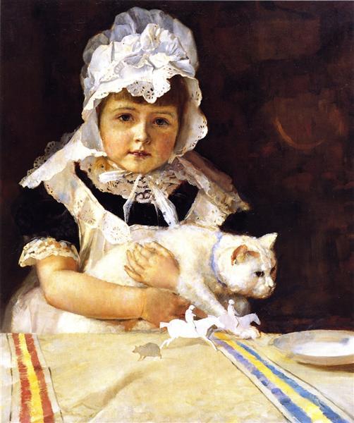 Miss Minna Simpson, 1886 - Tom Roberts