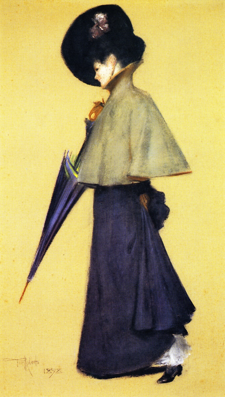 Portrait of a Standing Woman, 1898