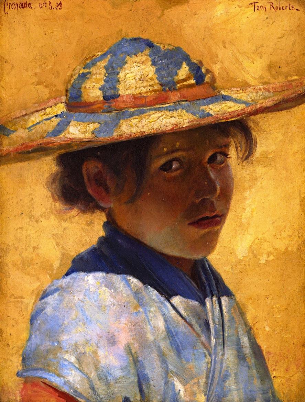 Una Muchacha (A Girl), 1883
