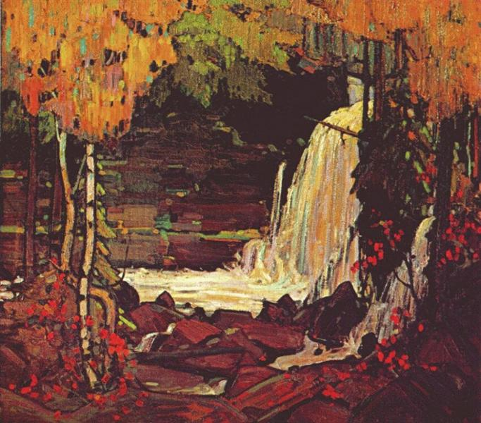 Woodland Waterfall - Tom Thomson